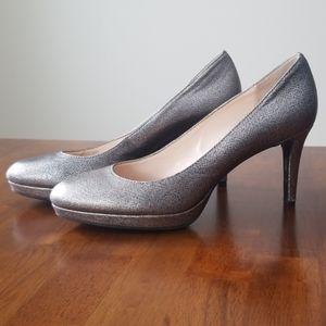 Calvin Klein Odette Heels Silver